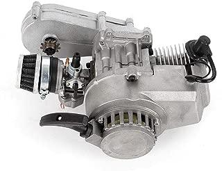 DONNGYZ 49cc 2 Stroke Engine Motor Pocket Pit Dirt Bike Mini Quad ATV Bicycle Scooter(US Stock)