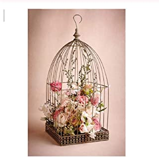 Adult Puzzle Classic Jigsaw Puzzle 1000 Pieces Wooden Puzzle DIY Bird Cage Flower Modern Home Decor Unique Gift Intellectual Game 75x50cm