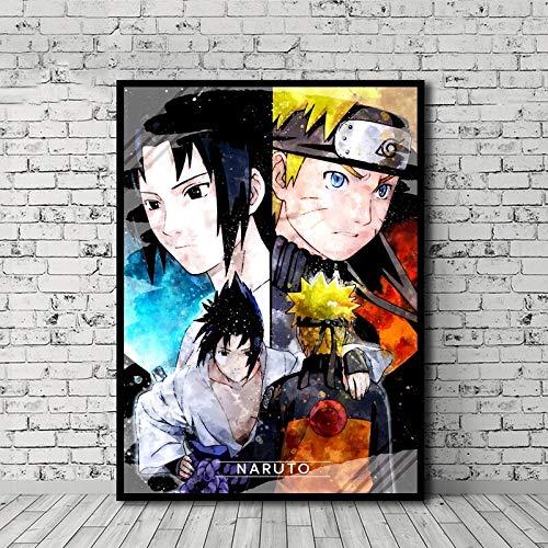 Puzzle 1000 Piezas Art Anime Naruto Pictures Nordic Modern Painting Puzzle 1000 Piezas clementoni Rompecabezas de Juguete de descompresión Intelectual Educativo Divertido jueg50x75cm(20x30inch)