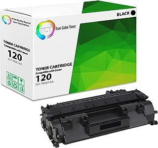 TCT Premium Compatible Toner Cartridge Replacement for Canon 120 2617B001AA Black Works with Canon imageClass D1100 D120 D1150 D1170 D1180 D1320 D1350 Printers (5,000 Pages)