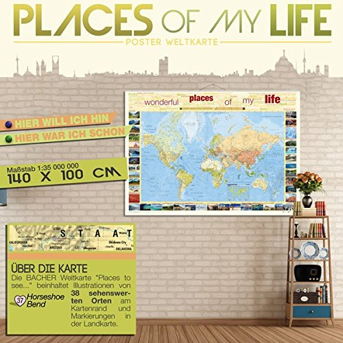 BACHER Weltkarte