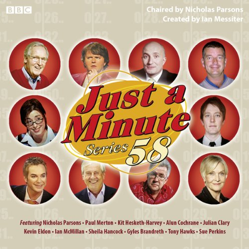 Just A Minute: Complete Series 58 Titelbild
