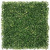 UNICESPED Jardín Vertical Artificial Exterior e Interior Celery Leaf Decoración Pared Plantas y Flores 100x100 centimetros