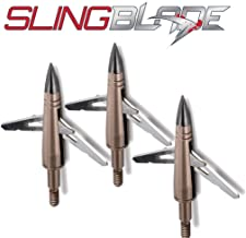 NAP Slingblade Mechanical Broadhead Front Deploying 2 Blade 100 Grain Three Pack