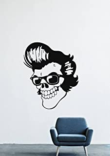 Elvis Aaron Presley Rock'n'roll Gospel Country Music Dancing Twist Hairstyle Male Head Wall Decals Decor Vinyl Stickers LM1407
