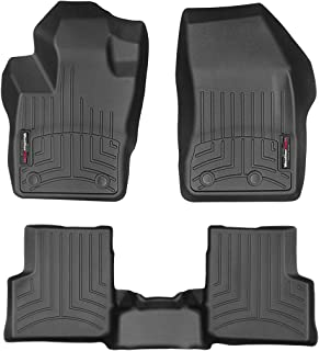 WeatherTech Custom Fit FloorLiner for Jeep Renegade - 1st & 2nd Row (Black)