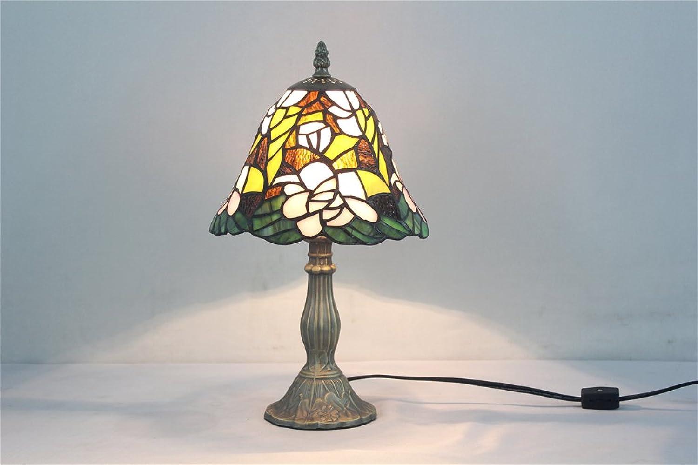 8-Zoll- Glasmalerei Lampe antike Kunstsammlungen der handgemachten Kunst Schlafzimmer Nachttischlampe B07178JWWW   Outlet Store