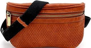 leather boho fanny pack