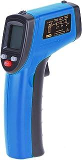 Sangmei Termômetro digital Pistola de temperatura industrial sem contato com luz de fundo -50-380 ° C (NÃO para humanos) B...