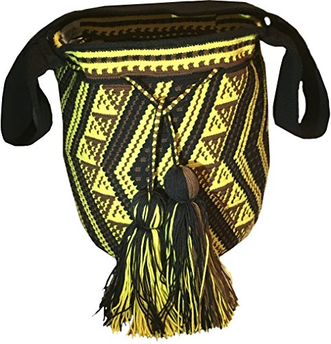 Mochila Wayuu - Bolso bandolera algodón Mujer Hombre