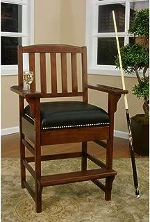 American Heritage King Billiard - Game Room Chair 387216, Suede