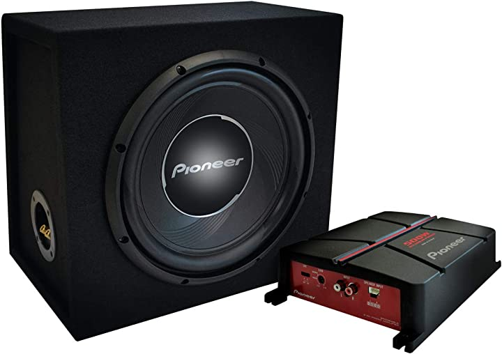 Amplificatore più subwoofer, set di 2 pioneer gxt-3730-b GXT-3730B
