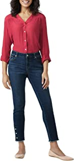 Sponsored Ad - Dressbarn Women's Westport Signature 5 Pocket Skinny Jean with Ankle Snap Button