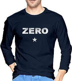Men's Inside Tshirts Long Sleeve The Smashing Pumpkins Zero Mens Tshirts Black