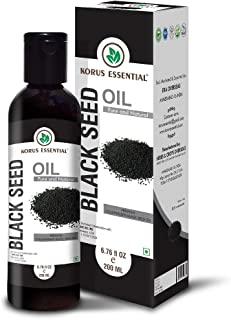 100% Pure Black Seed Oil - 200ML (6.76 oz) - Premium Quality, GMP Certified, Cruelty Free, Kosher and Halal Approved.