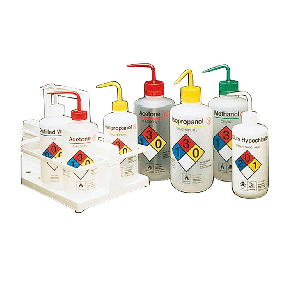 Nalgene 2425-0500 LDPE Right-To-Know Safety Bottle Fashionable Cheap SALE Start Assortme Wash