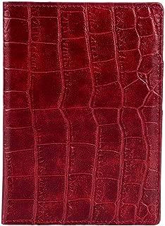 OROM Bonded Leather Passport Holder (Wine)