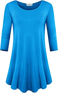 sky blue tunic