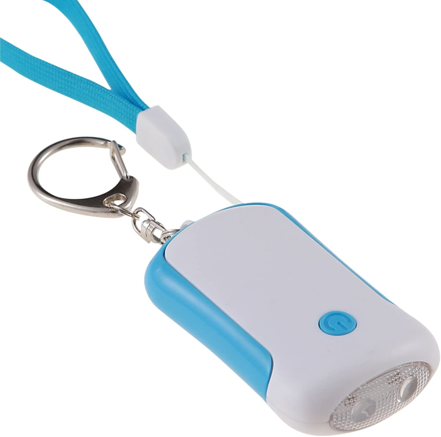 Guard 125dB Personal Alarm, Self Defense Alarm Grenade Style Keychain Pin Activation, Survival Whistle for Rape Attack Defense Women Kids Ederly Emergency,Bag Decoration