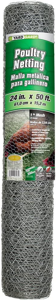 YARDGARD 308411B Fence Special sale item 50 Ranking TOP11 Galvanized Color - Foot