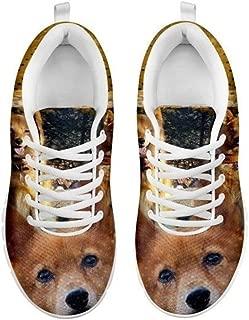 Finnish Spitz Dog- Print Casual Running Shoes for Men-(Finnish Spitz Lovers)