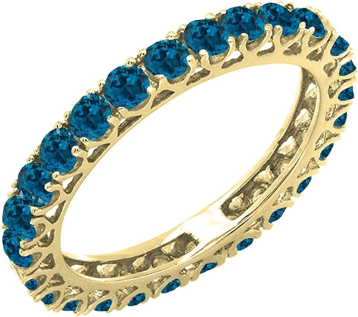 Financial sales sale Dazzlingrock Collection 1.80 Carat ctw Gold 14K London Quality inspection b Round