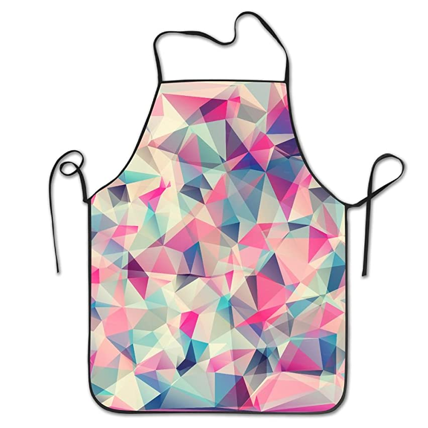 XCGWA Abstract Geometric Deluxe Aprons Personalized Printing Kitchen Apron