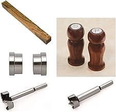 Penn State Industries PKSANDPSS Salt & Pepper Shaker Set Kit Starter Package Woodturning Project