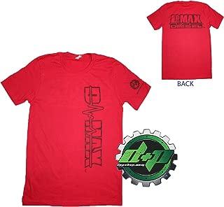 Dmax Chevy Duramax Diesel truckTee Shirt DPP Trucker Gear 4X4 Large RED