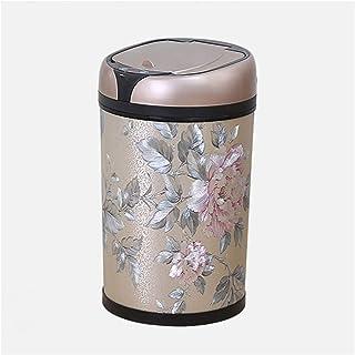 trash can kitchen يمكن أن تكون سلة المهملات المنزلية الإبداعية مع غطاء مقلم ذكي غطاء تلقائي مفتوح صندوق القمامة والمعنى ال...