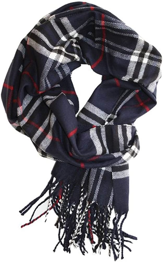 Max 59% OFF MINAKOLIFE Classic excellence Cashmere Feel Winter Scarf in Rich Plaids