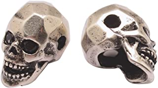 pave crystal skull beads