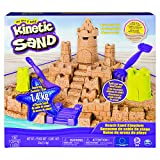 Kinetic Sand- Mega Beach Castle Set, Color Multicolor. (Spin Master 6044143)