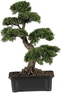 Nearly Natural 4103 24in. Cedar Bonsai Silk Plant