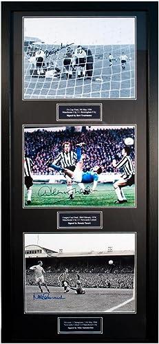 Manchester City Treble Legends Signed Framed Prints