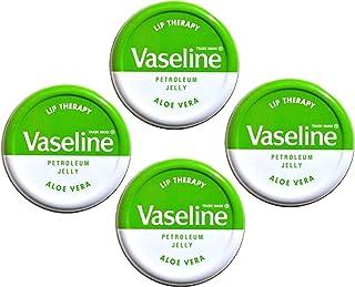 Vaseline Lip Therapy Aloe Vera 20 g (confezione da 4)