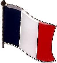 french flag pin badge