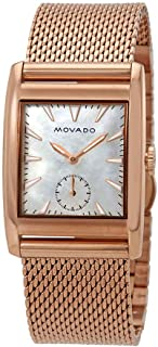 Movado Heritage White Mother of Pearl Dial Ladies Watch 3650041