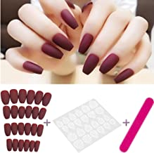 Best red ballerina nails Reviews