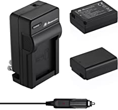 Powerextra 2 x Replacement Samsung BP-1130, BP-1030 Battery and Charger Compatible with Samsung NX200, NX210, NX300, NX500, NX1000, NX1100, NX2000