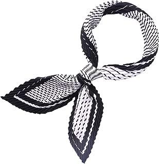 Best black satin scarf Reviews