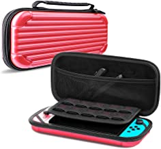 CAFELE Carrying Case for Nintendo Switch, Deluxe Hard Shell Travel Carry Case Portable Pouch Bag for Nintendo Switch Conso...