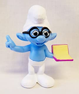 McDonalds - The Smurfs 2 Happy Meal Toy 2013 - Brainy #5