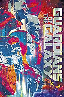 Guardians of The Galaxy Vol. 2 - Movie Poster/Print (The Guardians - Pop-Art) (Size: 24 inches x 36 inches)