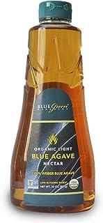 Blue Green Agave Organic Nectar, Light Blue, 32 Ounce