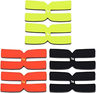 9x Silicone Long Shock Absorber Vibration Dampeners for Sport Tennis Racquet