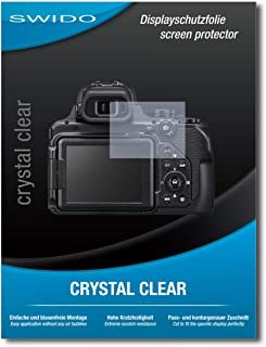 SWIDO® Protector de Pantalla para Nikon Coolpix P1000 [Crystal Clear] [4 Piezas] Transparente Invisible Anti-Huella Dactilar - Película Protectora