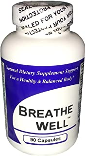 Breathe Well (100 Capsules) - Concentrated Herbal Blend - Dietary Supplement