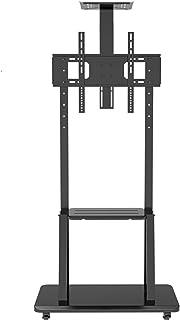 Uniwersalny stojak na biurko do telewizora, regulacja wysokości, zarządzanie kablami, LED OLED LCD plazmowy płaski zakrzyw...