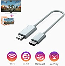 $49 » Wireless Display Adapter, 2.4G/5G WiFi Wireless 4K HDMI Adapter, Support Dual Screen Display, DLNA Mirror Function, for iOS/Android/Windows/Laptop/Projector/TV/Video Display Dongle